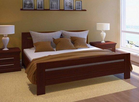 Дубовая кровать Глория 180*200