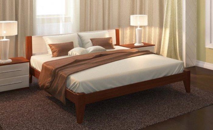 Дубовая кровать Фаворит 120*200