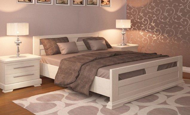 Дубовая кровать Модерн 140-180см