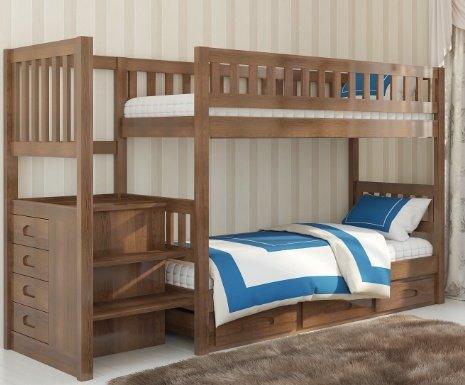 Двухъярусная кровать Владимир - 190x90см