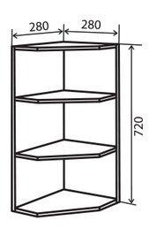Модуль №15 в 280-280 верх кухни «Техас»