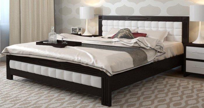 Дубовая кровать Фортуна 180х190/200