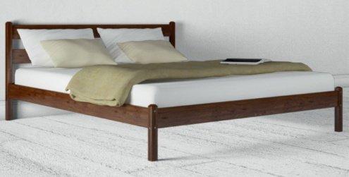 Односпальная кровать Лика прямая (без изножья) - 80х190-200см