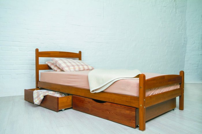 Кровать Лика с ящиками - 80х190-200см