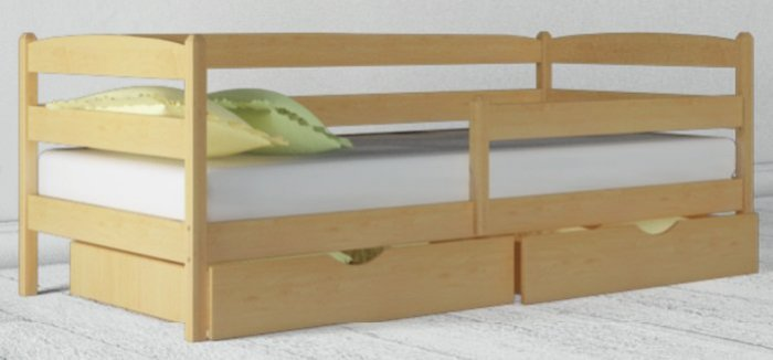 Детская кровать Марио люкс - 90х190-200см