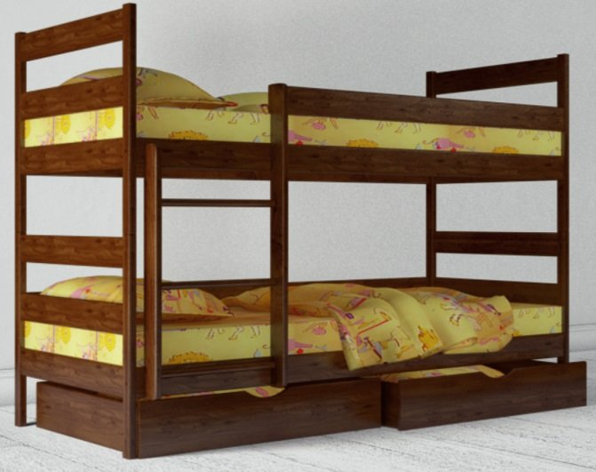Детская кровать Ясная