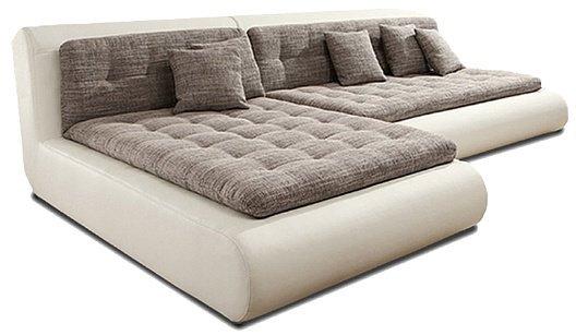 Кожаный угловой диван Эрсте