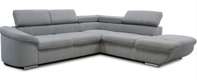 Кожаный угловой диван Рест