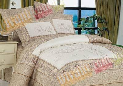 Семейный комплект постельного белья Wonderline -03WL