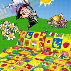 Детский комплект постельного белья Клаптики