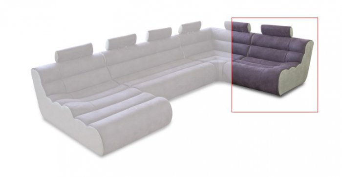 Модуль 1,2 к дивану Мегалайф