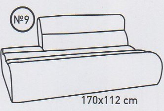 Модуль 9,10 к диван у Мегалайф