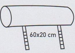 Модуль 13 (подголовник) к кожаному диван у Мегалайф