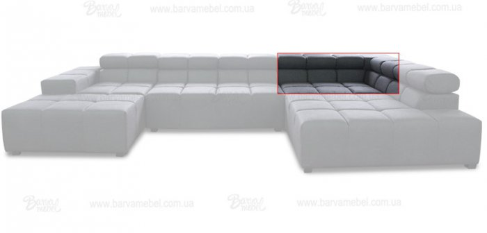Модуль 1,2 к дивану Мегамакс
