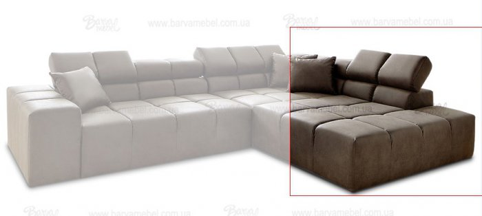 Модуль 3,4 к дивану Мегамакс