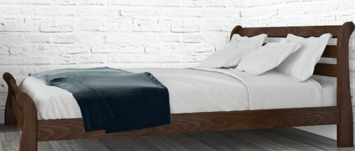 Полуторная кровать Соната - 140х200см