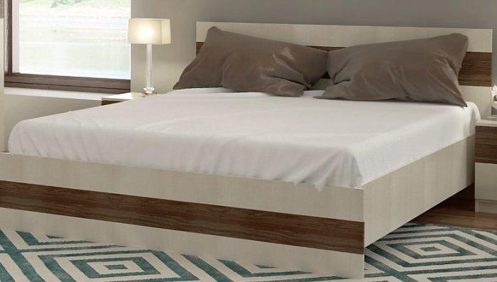 Двуспальная кровать 1600+ламели Марсель