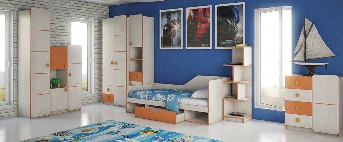 Детская спальня Санта