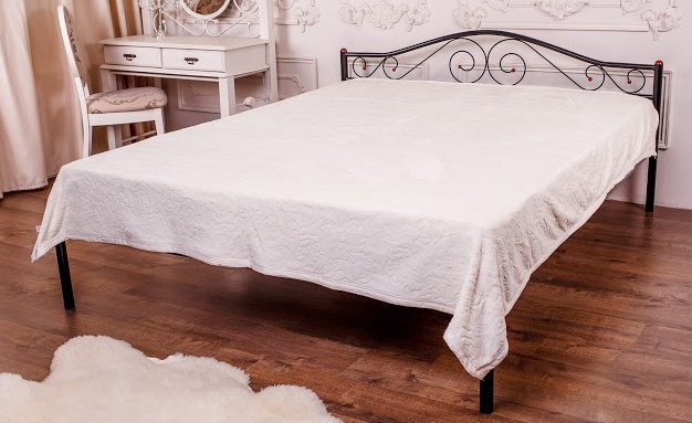 Двуспальная кровать Элис Новуд 160*200см
