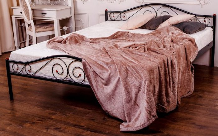 Односпальная кровать Элис Люкс Новуд 90*200см