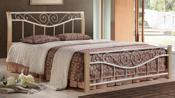 Полуторная кровать Ленора