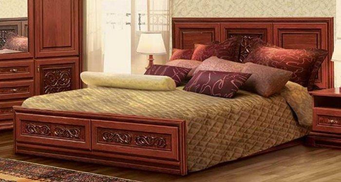 Двуспальная кровать Лацио - 160х200 см