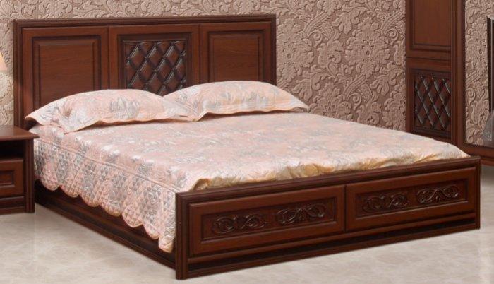 Двуспальная кровать 180х200 Ливорно