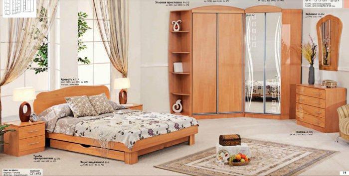 Спальня Софт (СП-493) Комфорт Мебель