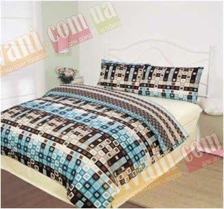 Полуторный комплект постельного белья Мозаика -722