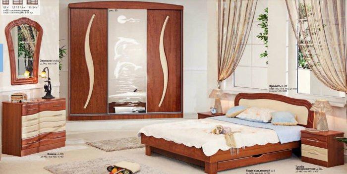 Спальня Волна Комфорт Мебель