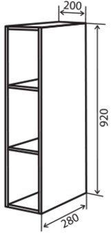 Модуль №41 в 200-920 верх кухни «Максима New»