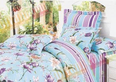 Полуторный комплект постельного белья Снежана -732
