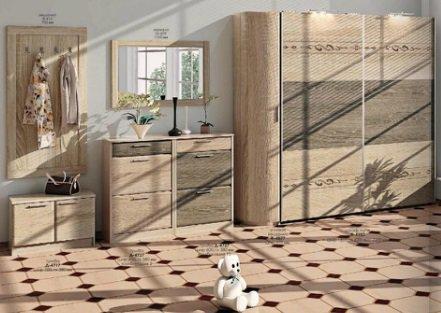 Прихожая Европейская Комфорт Мебель