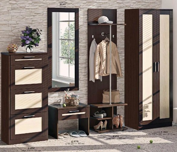 Прихожая Престиж (ВТ-4011) Комфорт Мебель