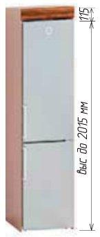 Низ Т-2798 шкаф-холод кухня Софт комби