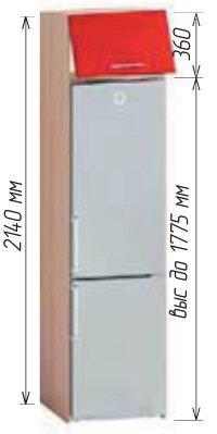 Низ Т-2895 кухня Хай-тек