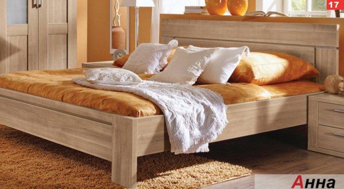 Двуспальная кровать Анна - 180x200см