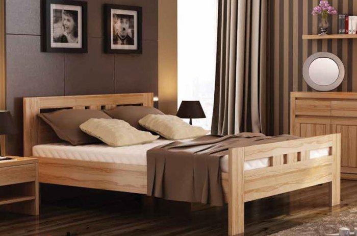 Двухспальная кровать Соната - 200x160см