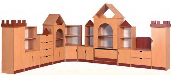 Стенка для игровой комнаты «Замок»