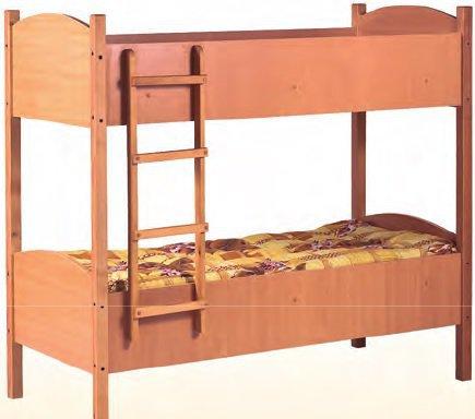 Кровать двухъярусная детская Гойдалка