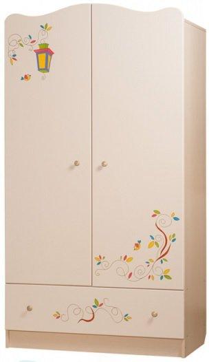 Шкаф платяной  Цветы жизни