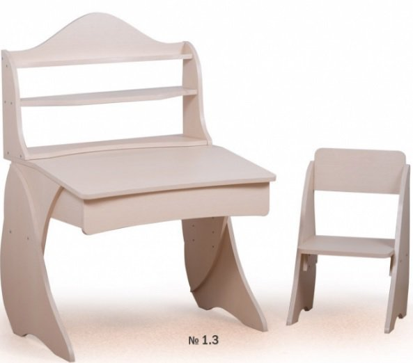 Парта Умник со стульчиком + надстройка