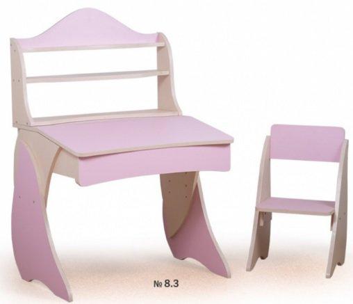 Парта Умница со стульчиком + надстройка