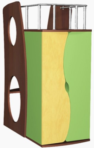 Игровой шкаф  Башня  Лунная сказка