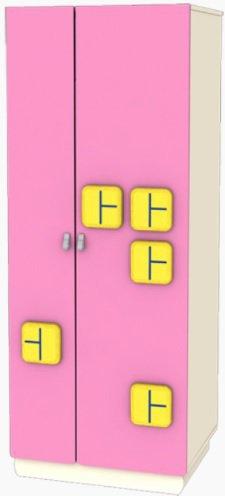 Шкаф-гардероб Терем М6 Лунная сказка