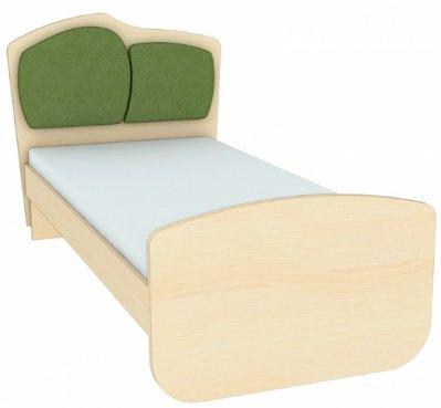 Кровать с двойной тканевой накладкой К 1-5 (цт-2) Планета Луна