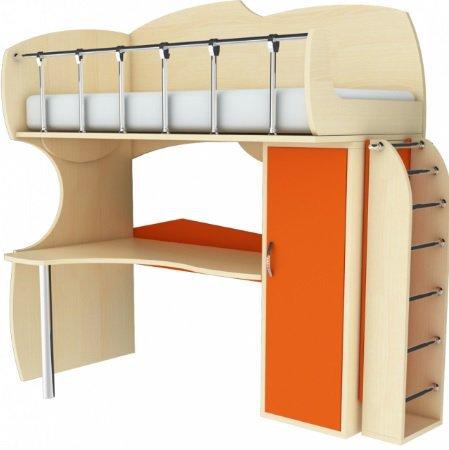 Мебельный комплект МК П 21/МК Л 22 (без лестницы) Планета Луна