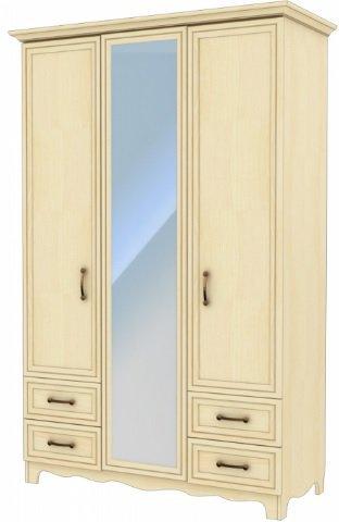 Шкаф-гардероб ШГ 4-44/5-44 (Д+З+Д)  Прованс