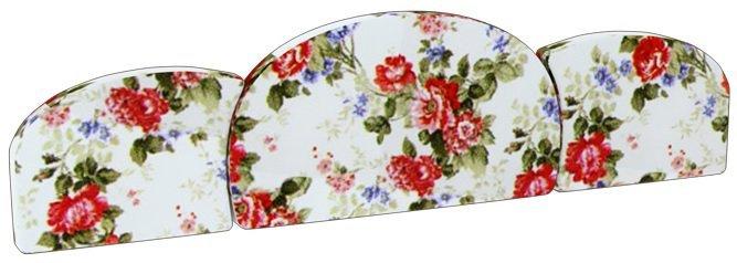 Комплект мягких подушек на кровать (3 шт.) КМП 4-96 Прованс