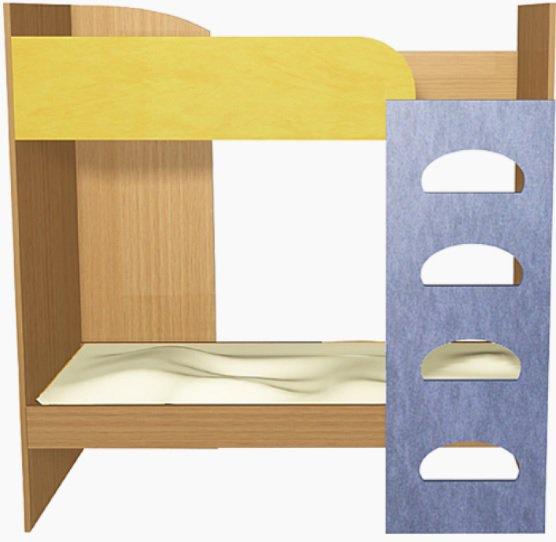 Кровать двухъярусная ДУ-КД2 Детcад